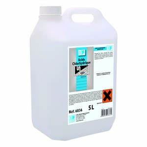 Acide Chlorhydrique Canalisation : acide chlorhydrique bidon 5 l ~ Dode.kayakingforconservation.com Idées de Décoration