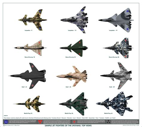Sample Jet Fighters Of The Spoyans
