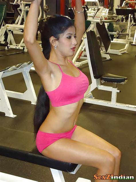 Cute Indian Girls Sexy Indian Chick In Gym