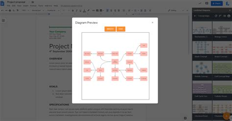 How to Make a Concept Map in Google Docs | Lucidchart Blog