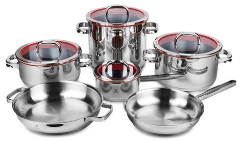 Wmf Function 4 Wmf Function 4 Stainless Steel Cookware Set 10 Cutlery And More