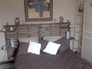 Fabriquer Une Tête De Lit : tete de lit originale en bois avec comment fabriquer une t ~ Dode.kayakingforconservation.com Idées de Décoration