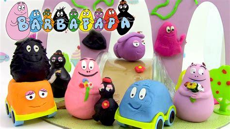 barbapapa p 226 te 224 modeler voyages de barbapapa play dough barbamodeler en fran 231 ais