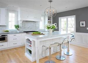 Modern, Kitchen, Wall, Colors, U2013, Dark, Grey, U2013, Remodeling, Cost, Calculator