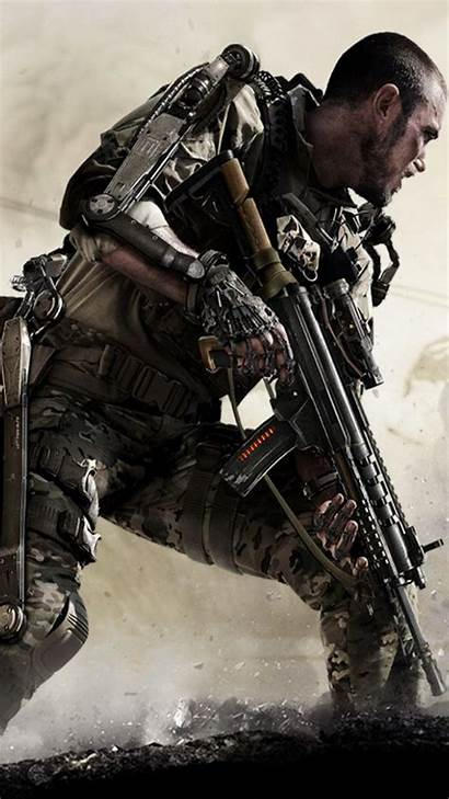 Duty Call Iphone Army Wallpapers Warfare Advanced