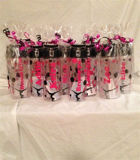 best gymnastics christmas gifts personalized water bottles great team gifts gymnastics sports etc really gift