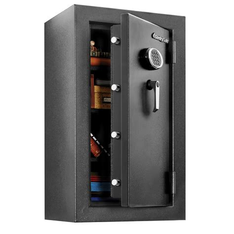 fireproof waterproof safe box shop sentrysafe security 4 71 cu ft electronic keypad