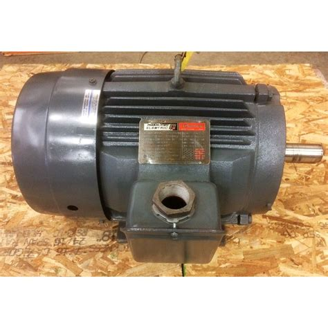 Reliance Electric Motors by 7 5hp Reliance Electric Motor 254t Frame 1150 Rpm
