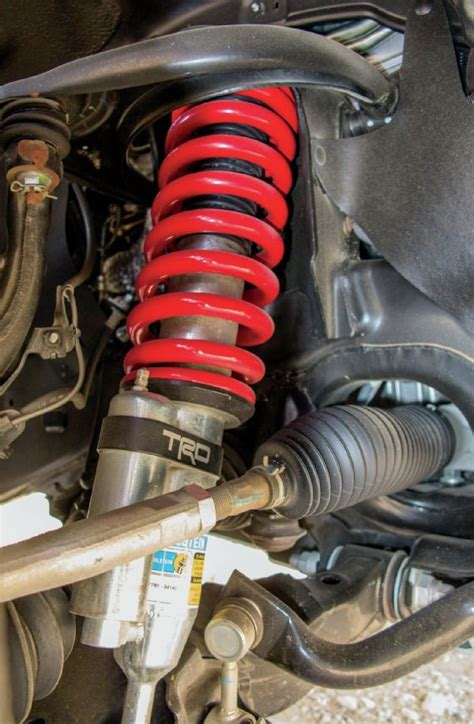 Trd Pro Suspension by 2015 Toyota Tacoma Trd Pro Suspension Road Society