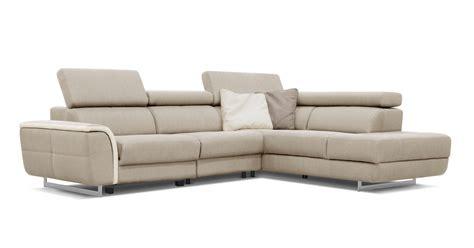 lenzo angle ou canap 233 relaxation en option sur univers du cuir