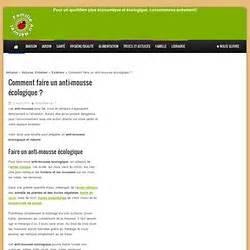 Anti Mousse écologique : jardinage pearltrees ~ Edinachiropracticcenter.com Idées de Décoration