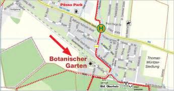 Botanischer Garten Leipzig Adresse by Anfahrt Botanischer Garten Oberholz Webseite