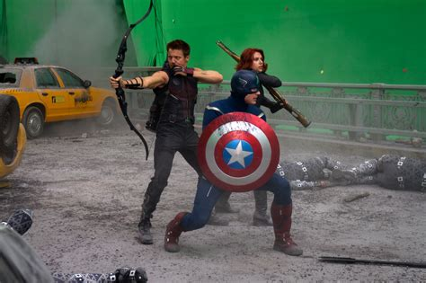 Film Visits The Set Avengers Over Things