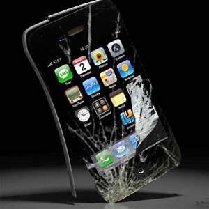 Broken Screen Wallpaper iPhone - WallpaperSafari