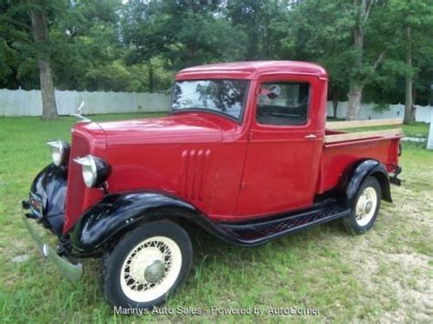 Sell Used 1934 Chevy 12 Ton Pickup Db Master Commercial