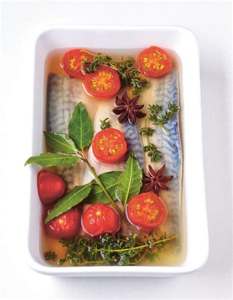 cuisine et vin de recette maquereau au vin blanc et tomates pour 4 personnes