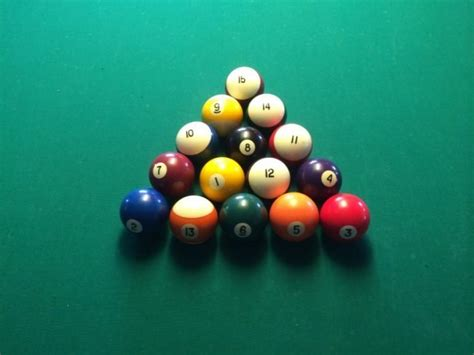 How To Rack In Pool - how to rack pool balls get it tight get it right bar