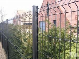 Panneaux Soudes Gris Anthracite : cl ture panneaux rigides vert clasf ~ Edinachiropracticcenter.com Idées de Décoration