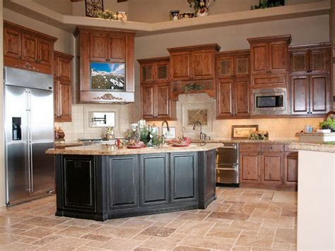 kitchen ideas with oak cabinets best color floor with oak cabinets house furniture