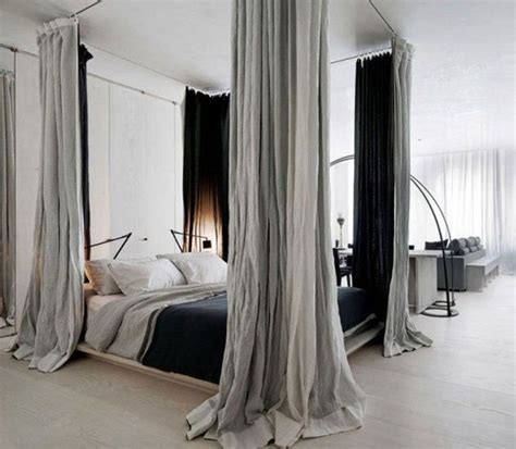 Black Canopy Bed Drapes by Best 25 Canopy Bed Curtains Ideas On Canopies