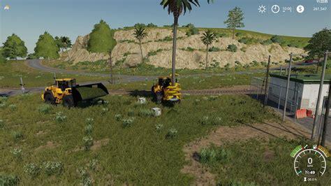 volvo lh  bucket   fs  farming simulator