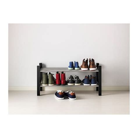 tjusig shoe rack black ideas for the home etagere chaussures placard ikea et 201 tag 232 re