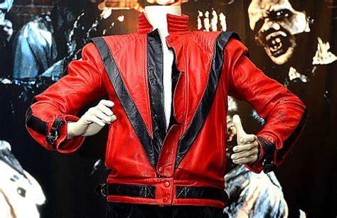 michael jackson thriller jacket sells   million