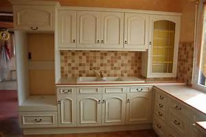 Meuble De Cuisine En Bois : cuisine meuble bois cuisine en image ~ Dailycaller-alerts.com Idées de Décoration