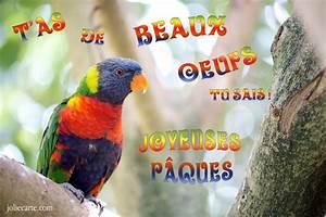 Lundi De Paques Signification : cartes virtuelles paques oiseau joliecarte ~ Melissatoandfro.com Idées de Décoration