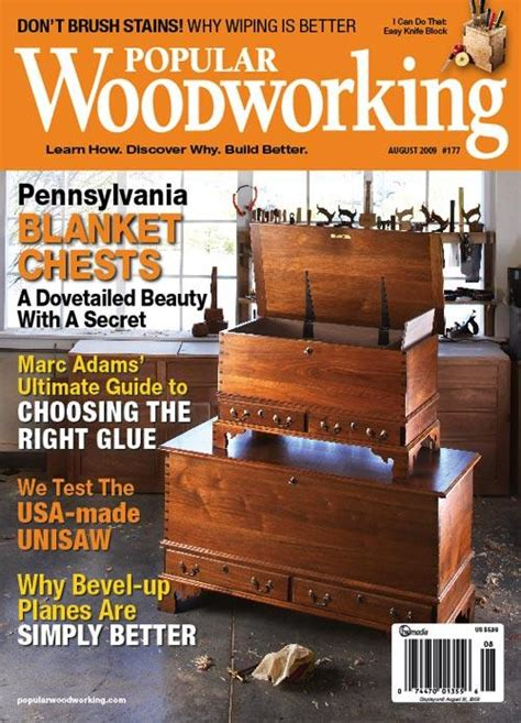 popular woodworking august  digital edition popular