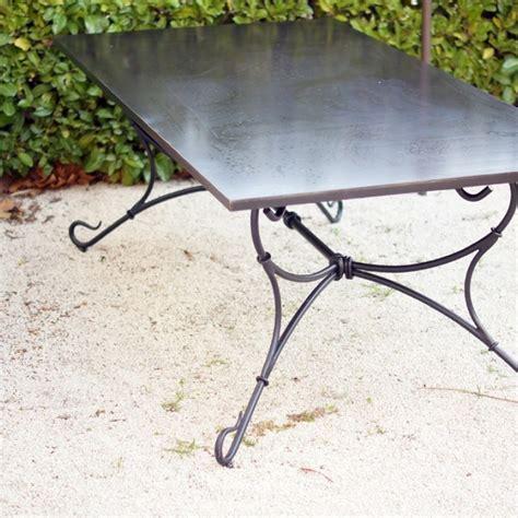 Table En Fer Forgé Modèle Extérieur Fabrication