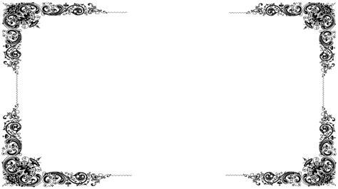 illustration border picture frame victorian