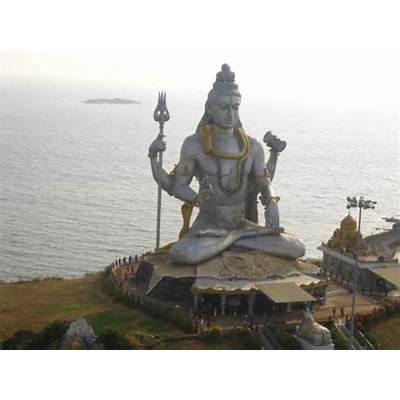 The Lord Shiva - Picture of Murudeshwara Temple Karnataka