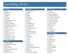 wedding decoration checklist shishay studio what is your checklist