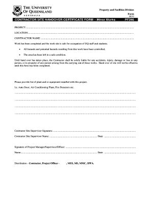 handing  certificate sample fill  printable