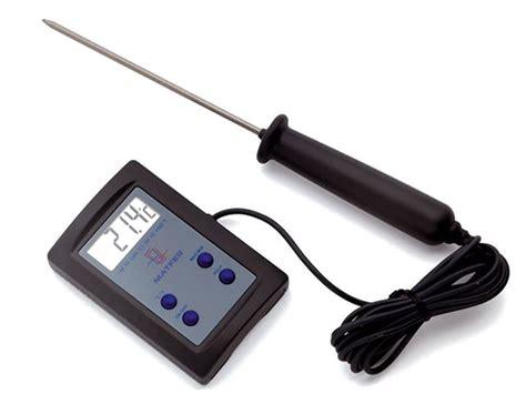 thermomètre à sonde cuisine thermomètre de cuisson sonde électronique matfer 50 c à