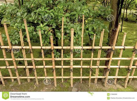 Japanischer Garten Zaun by Japanischer Zaun Und Garten Stockfoto Bild