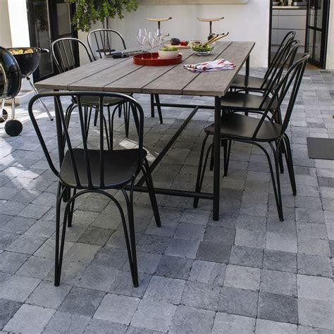 table chaise exterieur mobilier de jardin le mobilier de jardin tendance pour