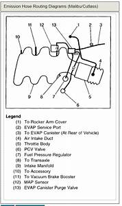 Vacuum Diagram  I Replaced The Intake Manifold  Lower Gaskets