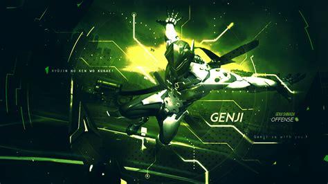 Genji Animated Wallpaper - genji wallpaper overwatch by gramcyyy on deviantart