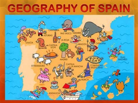 Political Map Spain