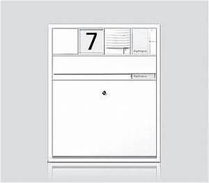 Briefkasten Mit Klingel Aufputz : siedle briefkasten table basse relevable ~ Yasmunasinghe.com Haus und Dekorationen