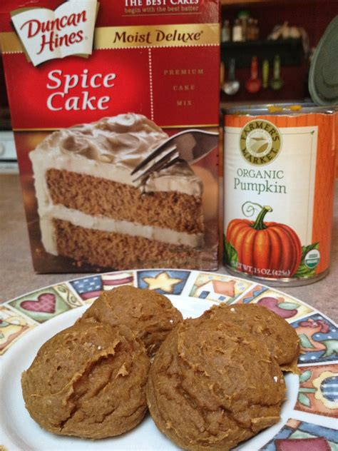 How to make cookies from cake mix. Runs for Cookies: RECIPE: Pumpkin Spice Cookies