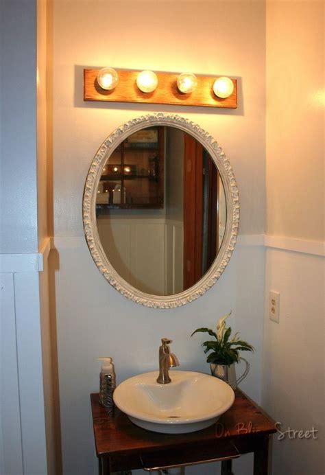 pin  housekaboodle  homes simple bathroom rustic