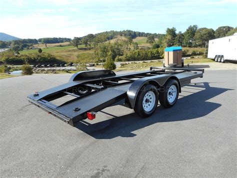 Open Car by 16 Open Center Car Hauler Pro Line Trailers Virginia