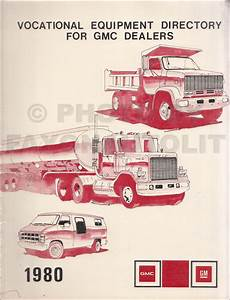 1980 Gmc Medium Duty Truck Repair Shop Manual Original