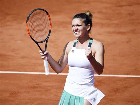 french open  simona halep pulls  great escape