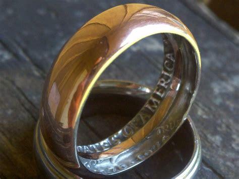 silberschmuck selber machen diy wie einen ring aus einer m 252 nze zu machen ringe
