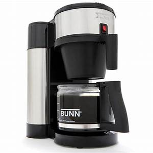 Bunn Nhs 10 Cup Velocity Brew Coffee Maker Black And