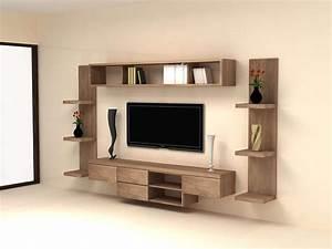 Table Tv Design : living room tv unit ~ Teatrodelosmanantiales.com Idées de Décoration